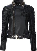 Philipp Plein embellished biker jacket