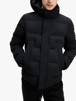 Tommy Hilfiger Hooded Stretch Bomber Jacket
