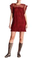 Tularosa Clayton Crochet Lace Tunic Dress