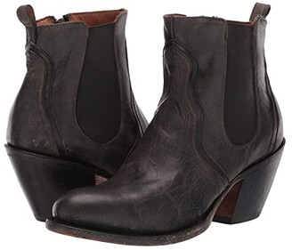 Lucchese Sheila (Black) Cowboy Boots