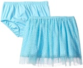 Mud Pie Turquoise Mesh Skirt and Bloomers Girl's Clothing