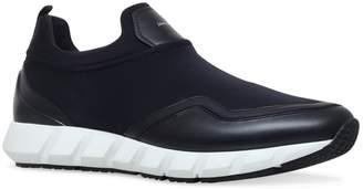 Salvatore Ferragamo Panelled Columbia Sneakers