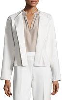 Josie Natori Double-Knit Short Jacket
