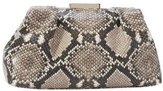 DeMellier The Mini Florence snakeskin-embossed leather bag