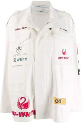 Off-White multi logo field jacket