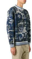 Vivienne Westwood Men's Blue Cotton Sweatshirt.