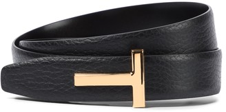 Tom Ford Monogram leather belt