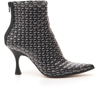 MM6 MAISON MARGIELA Bubble Wrap Effect Ankle Boots