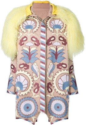 Yuliya Magdych Delight embroidered coat
