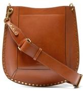Isabel Marant Oksan Studded Leather Cross-body Bag - Womens - Tan