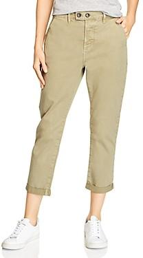 Frame Le Beau Straight-Leg Chino Pants