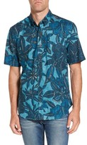 Reyn Spooner Men's Tribal Blooms Classic Fit Sport Shirt
