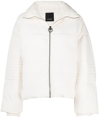 Pinko Quilted Reefer Jacket