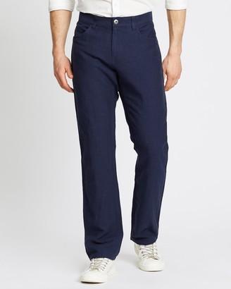Sportscraft Bedford Cotton-Linen Pants