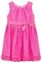Rachel Riley Pink Floral Lace Dress