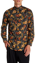 Y-3 Floral Print Long Sleeve Shirt