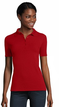 Hanes Women's X-Temp Pique Polo Shirt