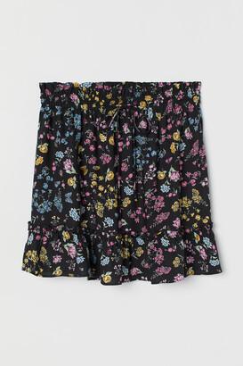 H&M Short flounced skirt