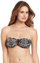 Seafolly Women's Shatter Macrame Bandeau Bikini Top