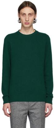 Harmony Green Wool Winston Sweater