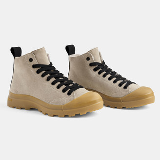 James Perse Vibram Rugged Suede Boot - Womens