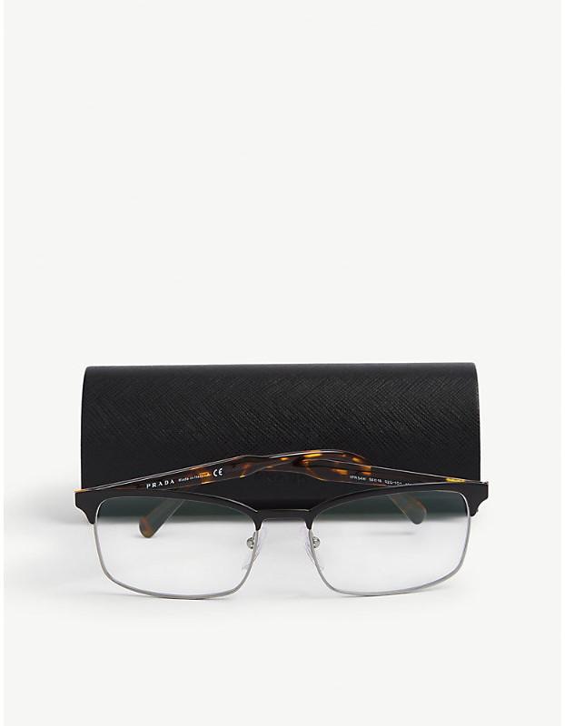 Thumbnail for your product : Prada PR 54WV square-framed acetate glasses