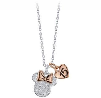 Disney Minnie Mouse Icon ''15'' Pendant Necklace