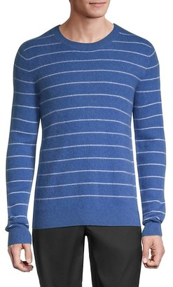 Saks Fifth Avenue Striped Cashmere Sweater