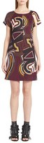 Emilio Pucci Monogram Print Jacquard Dress
