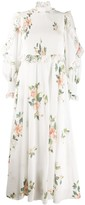 Zimmermann floral high-neck dress