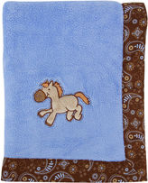 Trend Lab TREND LAB, LLC Cowboy Receiving Blanket