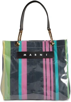 Marni Glossy Grip Medium Square Tote Bag