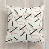 Minted Pick Up Stick Self-Launch Square Pillows
