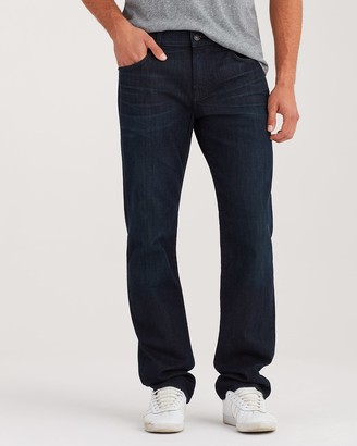 7 For All Mankind Luxe Performance Standard With Clean Pocket in Dark Abyss