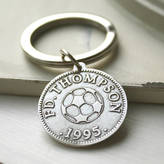 Nicola Crawford Personalised Sport And Hobby Coin Keyring