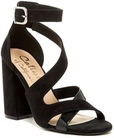 Callisto Dinah Crisscross Ankle Strap Sandal