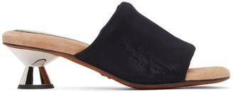 Proenza Schouler Black Padded Vase Sandals