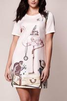 Yumi Tea Time Flamingo Dress