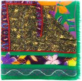 Etro Hindu print scarf