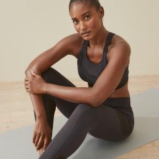 The White Company Mesh Pocket Workout Leggings, Black, Large