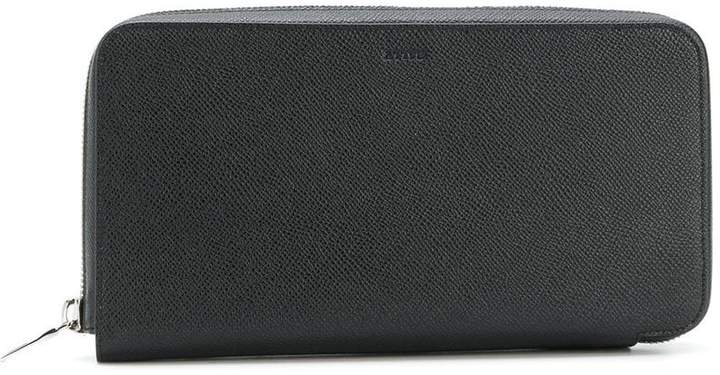 Bally multiple card slots zipped wallet