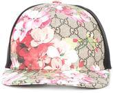 Gucci Blooms GG Supreme print baseball cap - women - Cotton/Polyester/Polyurethane - M