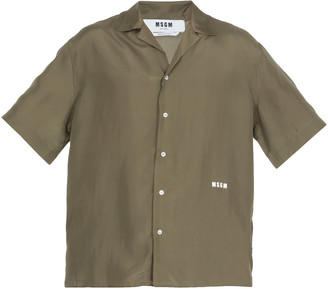 MSGM Silk Shirt
