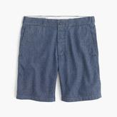 J.Crew Wallace & Barnes cotton-hemp selvedge denim short