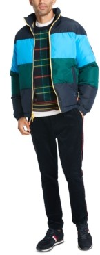 Tommy Hilfiger Men's Colorblocked Puffer Jacket