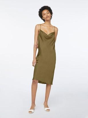 Frame Cowl Cami Dress