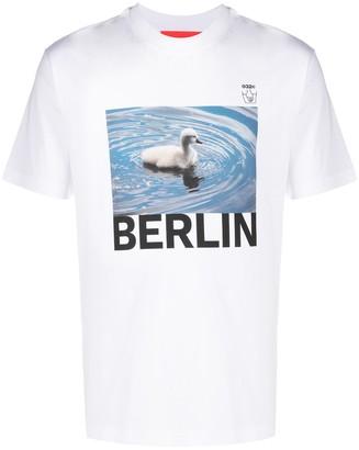032c Duck print T-shirt