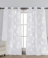 "Kensie CLOSEOUT! Home Aster Sheer Burnout 44"" x 84"" Panel"