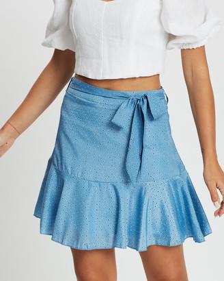 Atmos & Here Penny Polka Skirt