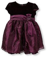 Jayne Copeland 12-24 Months Velvet Dress